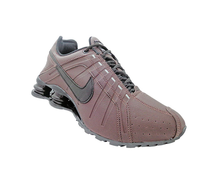 quality products super specials excellent quality Tênis Nike Shox Junior Café e Preto | Kit Loja – scriptcerto ...