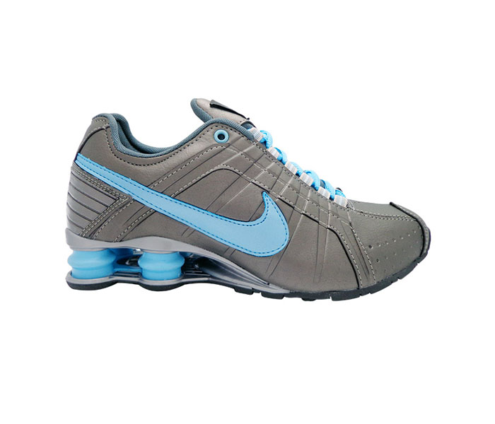 limited guantity 2018 shoes retail prices Tênis Nike Shox Junior Grafite e Azul Bebê | Kit Loja ...