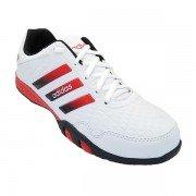 Tênis Adidas F500 Branco e Vermelho