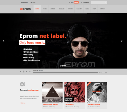 EPROM-WordPress-Music-Theme