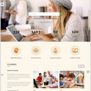 LMS-Responsive-Learning-Management-System