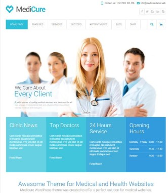 medicure-wordpress-medical-theme