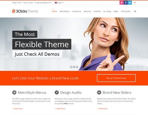 3Clicks-Responsive-WordPress-Theme