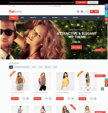 Flatastic-WordPress-Template