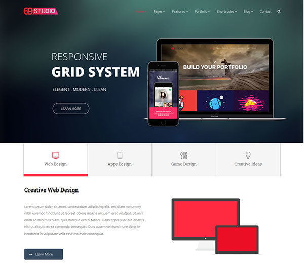 sixtyninestudio-creative-agency-wordpress-theme-2